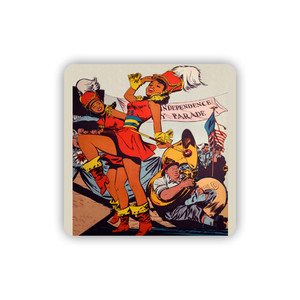 Afrotopia Coasters - Vintage Marching Band - Package Of 10
