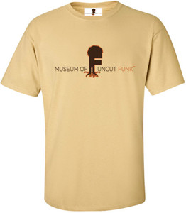 Museum Of UnCut Funk Men's T-Shirt -  Logo 1 - Vegas Gold
