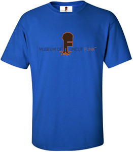 Museum Of UnCut Funk Men's T-Shirt -  Logo 1 - Royal Blue