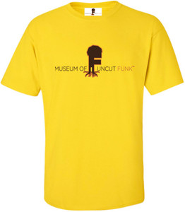 Museum Of UnCut Funk Men's T-Shirt -  Logo 1 - Yellow