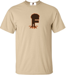 Museum Of UnCut Funk Men's T-Shirt -  Logo 2 - Natural