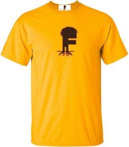 Museum Of UnCut Funk Men's T-Shirt -  Logo 2 - Gold