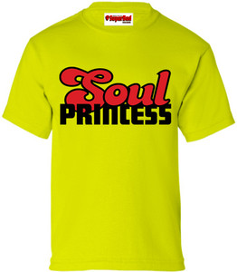 SuperBad Soulware Girls T-Shirt - Soul Princess - Lime Green - BR