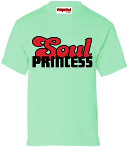 SuperBad Soulware Girls T-Shirt - Soul Princess - Mint Green - BR