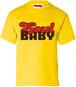 SuperBad Soulware Kids T-Shirt - Soul Baby - Yellow - BRR