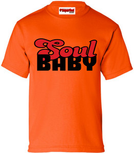 SuperBad Soulware Girls T-Shirt - Soul Baby - Orange - BR
