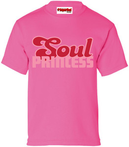 SuperBad Soulware Girls T-Shirt - Soul Princess - Dark Pink - PDP