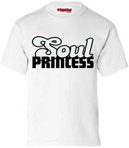 SuperBad Soulware Girls T-Shirt - Soul Princess - White - BGR