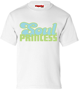 SuperBad Soulware Girls T-Shirt - Soul Princess - White - GBL
