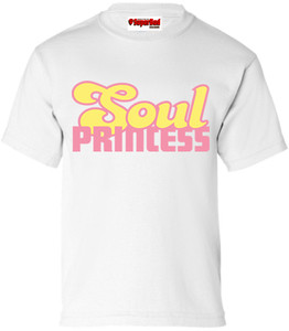SuperBad Soulware Girls T-Shirt - Soul Princess - White - PY