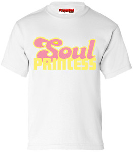 SuperBad Soulware Girls T-Shirt - Soul Princess - White - YP