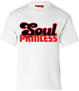 SuperBad Soulware Girls T-Shirt - Soul Princess - White - RB