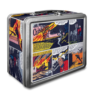 Vintage Black Heroes Lunchbox - The Chisholm Kid - CST10