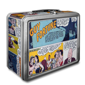 Vintage Black Heroes Lunchbox - Guy Fortune - CST5