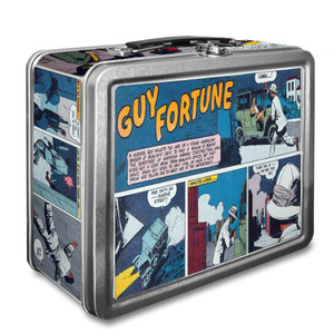 Vintage Black Heroes Lunchbox - Guy Fortune - CST8