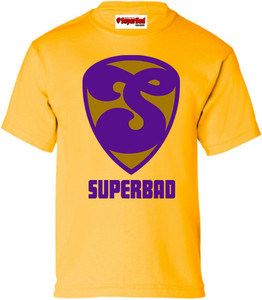SuperBad Soulware Boys T-Shirt - S2 - Gold - PRGD