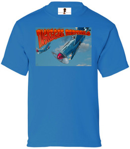 Tuskegee Redtails Boys T-Shirt - 1 - Sapphire Blue
