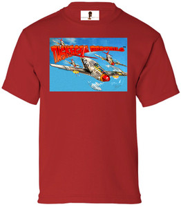Tuskegee Redtails Boys T-Shirt - 2 - Red