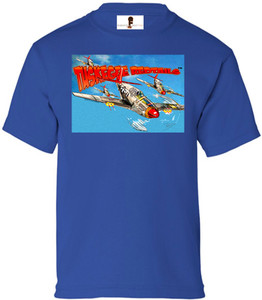 Tuskegee Redtails Boys T-Shirt - 2 - Royal Blue