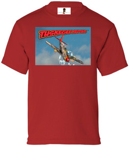 Tuskegee Redtails Boys T-Shirt - 5 - Red