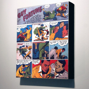 Vintage Black Heroes 14x12 Canvas - Guy Fortune - 2