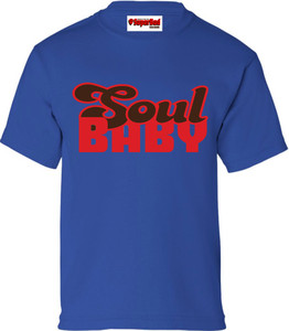 SuperBad Soulware Kids T-Shirt - Soul Baby - Royal Blue - RBR