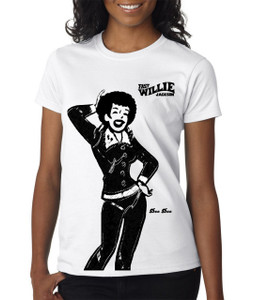 Fast Willie Jackson Women's T-Shirt - Dee Dee - 3B - White