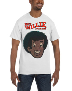 Fast Willie Jackson Men's T-Shirt - Fast Willie Jackson - 1A - White