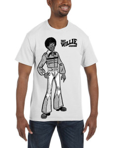 Fast Willie Jackson Men's T-Shirt - Fast Willie Jackson - 4B - White
