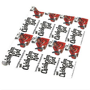 Vintage Black Heroes Wrapping Paper Sheets - The Chisholm Kid - 4 - Package Of 5