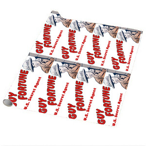 Vintage Black Heroes Wrapping Paper Sheets - Guy Fortune - 3 - Package Of 5