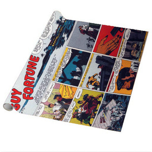 Vintage Black Heroes Wrapping Paper Sheets - Guy Fortune - CST16 - Package Of 5