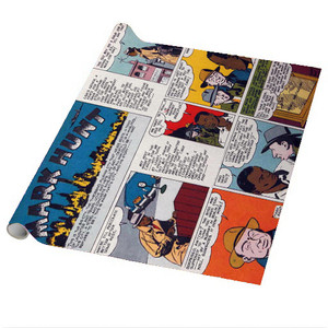 Vintage Black Heroes Wrapping Paper Sheets - Mark Hunt - CST12 - Package Of 5