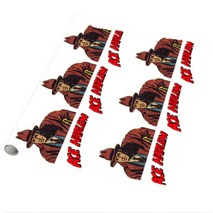 Vintage Black Heroes Wrapping Paper Sheets - Ace Harlem - 4 - Package Of 5