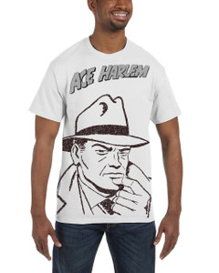Vintage Black Heroes Men's T-Shirt - Ace Harlem - PCOT - White