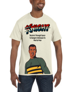 Vintage Black Heroes Men's T-Shirt - Neil Knight 3 - Natural