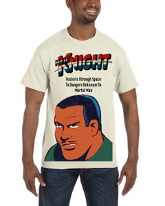 Vintage Black Heroes Men's T-Shirt - Neil Knight 4 - Natural