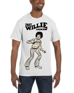 Fast Willie Jackson Men's T-Shirt - Fast Willie Jackson - 9 - White