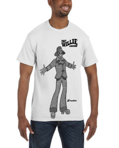 Fast Willie Jackson Men's T-Shirt - Frankie - 7B - Black
