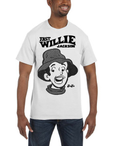 Fast Willie Jackson Men's T-Shirt - JoJo - 1A - White