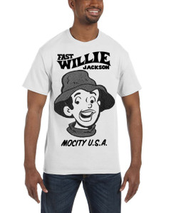Fast Willie Jackson Men's T-Shirt - JoJo - 1B - White