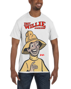 Fast Willie Jackson Men's T-Shirt - JoJo - 2A - White