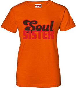 SuperBad Soulware Women's T-Shirt - Soul Sister - Orange