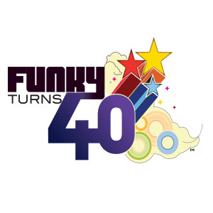 Funky Turns 40 Magnet