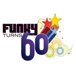 Funky Turns 60 Magnet