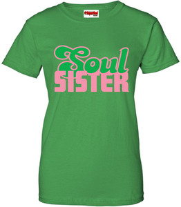 SuperBad Soulware Women's T-Shirt - Soul Sister - Irish Green - PG