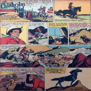 Vintage Black Heroes Magnet - The Chisholm Kid - CST17
