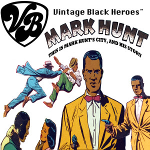 Vintage Black Heroes Magnet - Mark Hunt