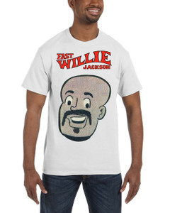 Fast Willie Jackson Men's T-Shirt - Hannibal - 1A - White