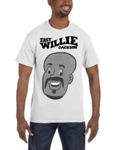 Fast Willie Jackson Men's T-Shirt - Hannibal - 1B - White